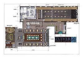 Cad Floor Plan Restaurant Zuiver Utrecht By Hans Kuijten Projecten Sketch