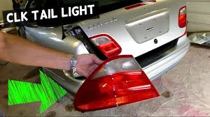 mercedes light replacement mercedes clk w208 light assembly replacement brake light