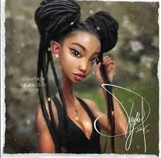 beautiful cartoon women art 586 best black artwork images on pinterest black art africa art