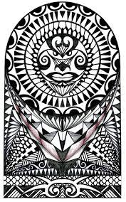 polynesian halfsleeve design by thehoundofulster on deviantart