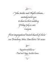 wedding invitation exle decline wedding invite template wedding invitation ideas
