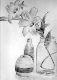 flowers in a vase by splotchy on deviantart