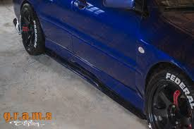 lexus is300 side skirts mitsubishi evo 7 8 9 sidesteps side skirt extensions