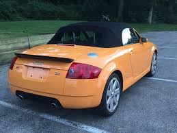 for sale 2005 tt 3 2 quattro papaya orange w baseball optic