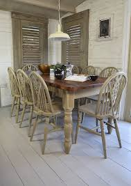 shabby chic pedestal dining table metal glass finish dining table