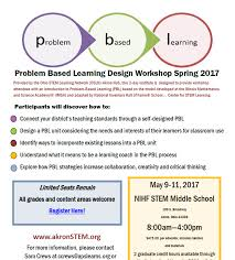 Self Design Home Learners Network by Ohio Stem Learning Networkupcoming Events Problem Based