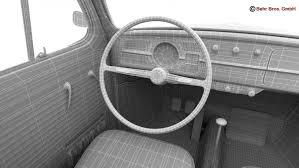 volkswagen beetle studio max 3d volkswagen beetle 1963 1200 deluxe 3d model in classic cars 3dexport