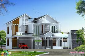 House Design 150 Square Meter Lot by Two Slightly Variant House Elevations Kerala Home Design