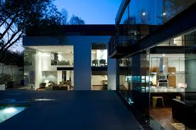 modern glass house lomas de chapultepec by paola calzada arquitectos