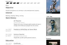 Art Teacher Resume Sample by Art Teacher Resume Sample Art Teacher Resume Samples Visualcv