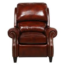 Leather Chairs Amazon Com Barcalounger Churchill Ll Art Burl Leather Recliner