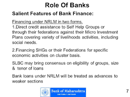 1 of in nrlm background positive experience in lending to