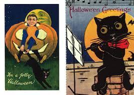 velvet nectar vintage halloween imagery