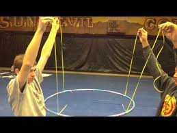 How To Hang Ceiling Drapes For Events Hula Hoop Hanging Youtube