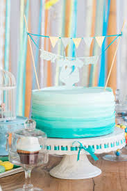 blue baby shower yellow blue baby shower via kara s party ideas karaspartyideas