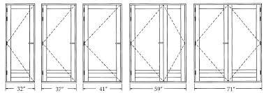 Closet Door Size Closet Doors Sizes Door Ideas