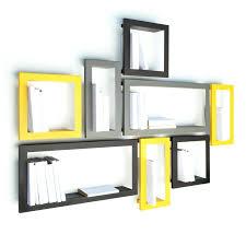 wall ideas wall mounted bookshelves designs wall mount wood