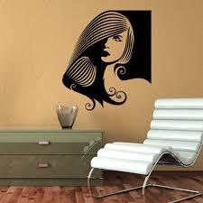 wall decals beauty salon hair hairstyle vinyl sticker decor