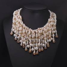 top jewellery designers top fashion jewelry design statement pearl tassel necklace top