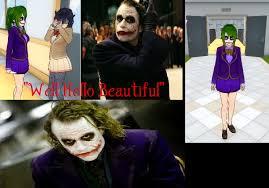 Heath Ledger Joker Halloween Costume Joker Heath Ledger Yandere Simulator Skin Jelly Bearby