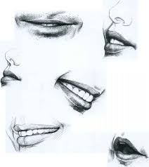 image gallery mouth sketch