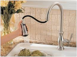 price pfister hanover kitchen faucet pfister f5297tms hanover 1 handle pull kitchen faucet with