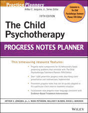 the child psychotherapy progress notes planner by arthur e