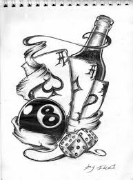 new school tattoo drawings black and white all the elements needed in a new school tattoo