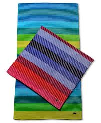 Lacoste Bathroom Accessories by Lacoste Beach Towels Towel