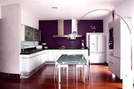 chambre aubergine et gris plan de travail couleur aubergine cool cuisine moderne avec lot