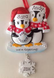 personalized ornament penguin with pet