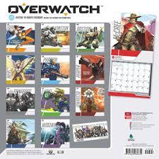 overwatch 2017 calendar 15 overwatch christmas gift ideas