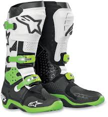 dirt bike motorcycle boots alpine stars tech 10 boots great boots but i prefer them in all