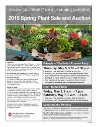 Osu Parking Map 2016 Spring Plant Sale And Auction Chadwick Arboretum U0026 Learning