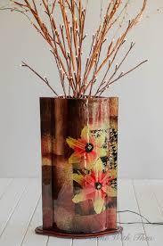 Branches In A Vase Silk Flower Lighted Branches Floral Arrangement Tutorial Time