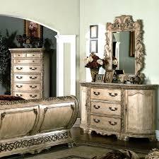 cannes bedroom set gondola sleigh bed whitewash dcg stores