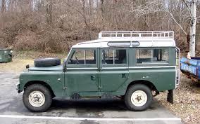 the street peep 1967 land rover series iia lwb safari roof