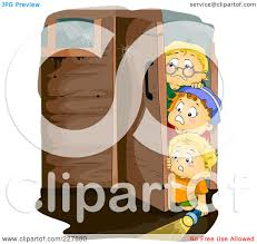 haunted houses clipart royalty free rf clipart illustration of little boys walking into