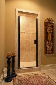 shower door with 60 40 split small bathroom pinterest photo