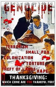 happy genocide day guilt mongers start in on their thanksgiving