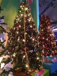 welsh christmas tree at the museum of science and industry