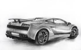 lamborghini sketch side view drawn lamborghini lamborghini gallardo pencil and in color drawn