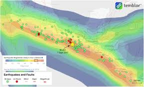 Oregon Earthquake Map by From Temblor U201cm U003d8 Earthquake Strikes Offshore Mexico U201d Science