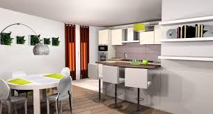 cuisine ouverte sur salon 30m2 idées de décoration étonnant amenagement de cuisine ouverte 0