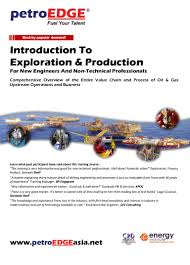 pe950 introduction to exploration u0026 production for new engineers and u2026