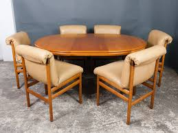 Dining Table And Six Chairs Dining Table Six Chairs From White Newton 1960s For Sale At