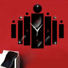 amazon com happy hours creative wall clocks home diy