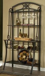 Storage Bakers Rack Wine Rack Wooden Wine Bakers Rack Metal Bakers Rack Wwine Bakers