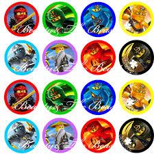 ninjago cake toppers aliexpress buy ninjago stickers ninjago cupcake toppers