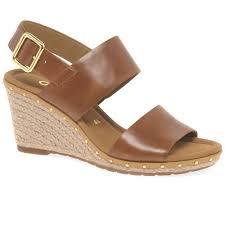 gabor anna 2 ladies wedge heel sandals gabor shoes